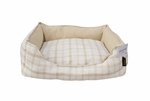 Sleepytime Lyon Rectangle Beige75x70x22cm-dog-The Pet Centre