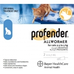 Profender Allwormer for Cats 2.5 - 5kg-flea-|-worm-The Pet Centre