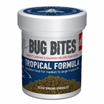 Nutrafin Bug Bites Tropical Fish M/L Formula 45g-pellets-The Pet Centre