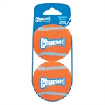 Chuckit Tennis Ball Medium 2pk-balls-The Pet Centre