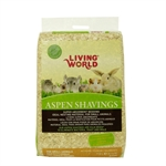 Living World Aspen Pine Shavings 113ltr-litter-|-bedding-The Pet Centre