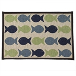 Tapestry Placemat - Kool Fishies-placemats-The Pet Centre