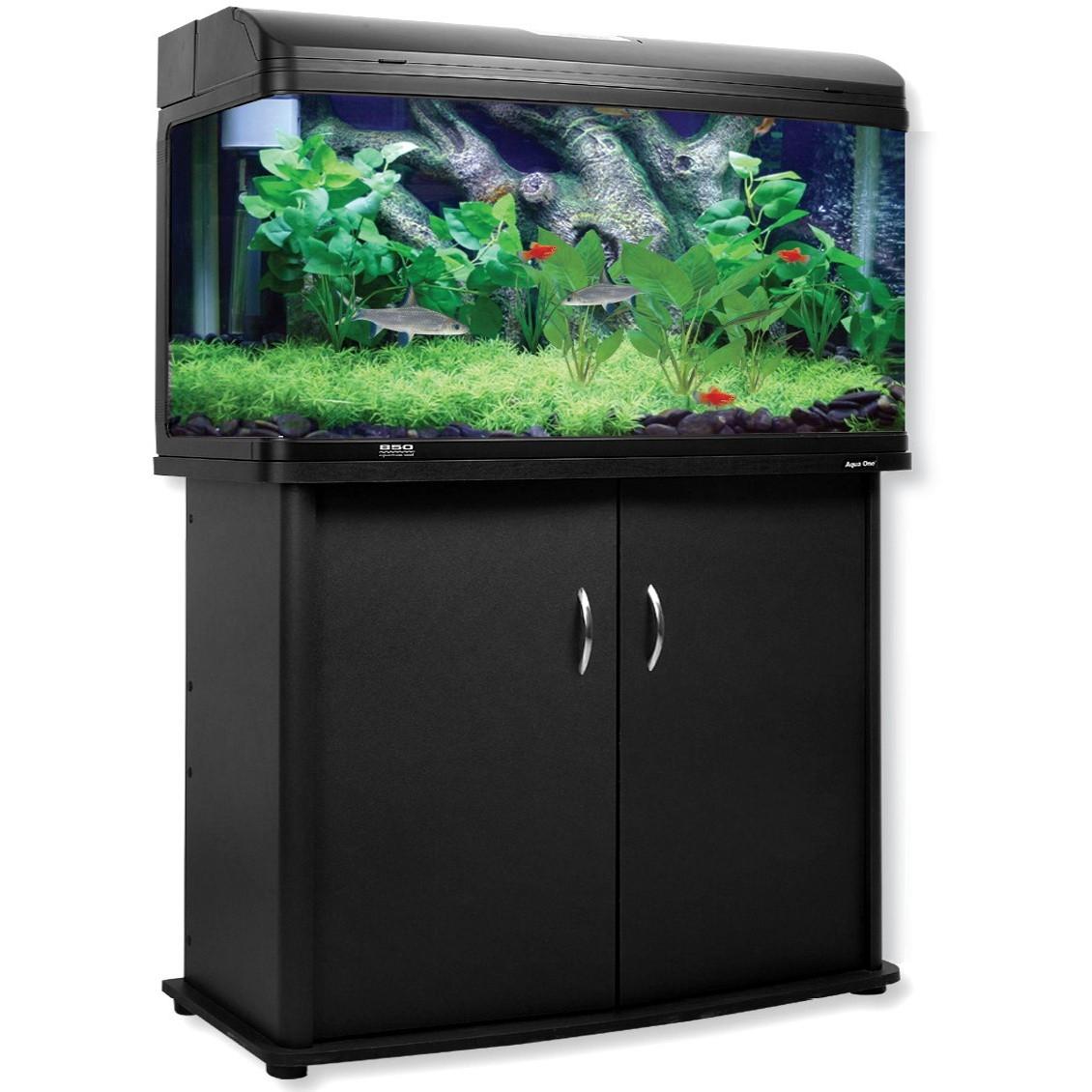 Aqua One Ar980t 245 Litre Aquarium Amp Cabinet Combo Fish