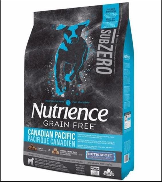 Nutrience Sub Zero Grain Free Canadian Pacific Dog Food 2