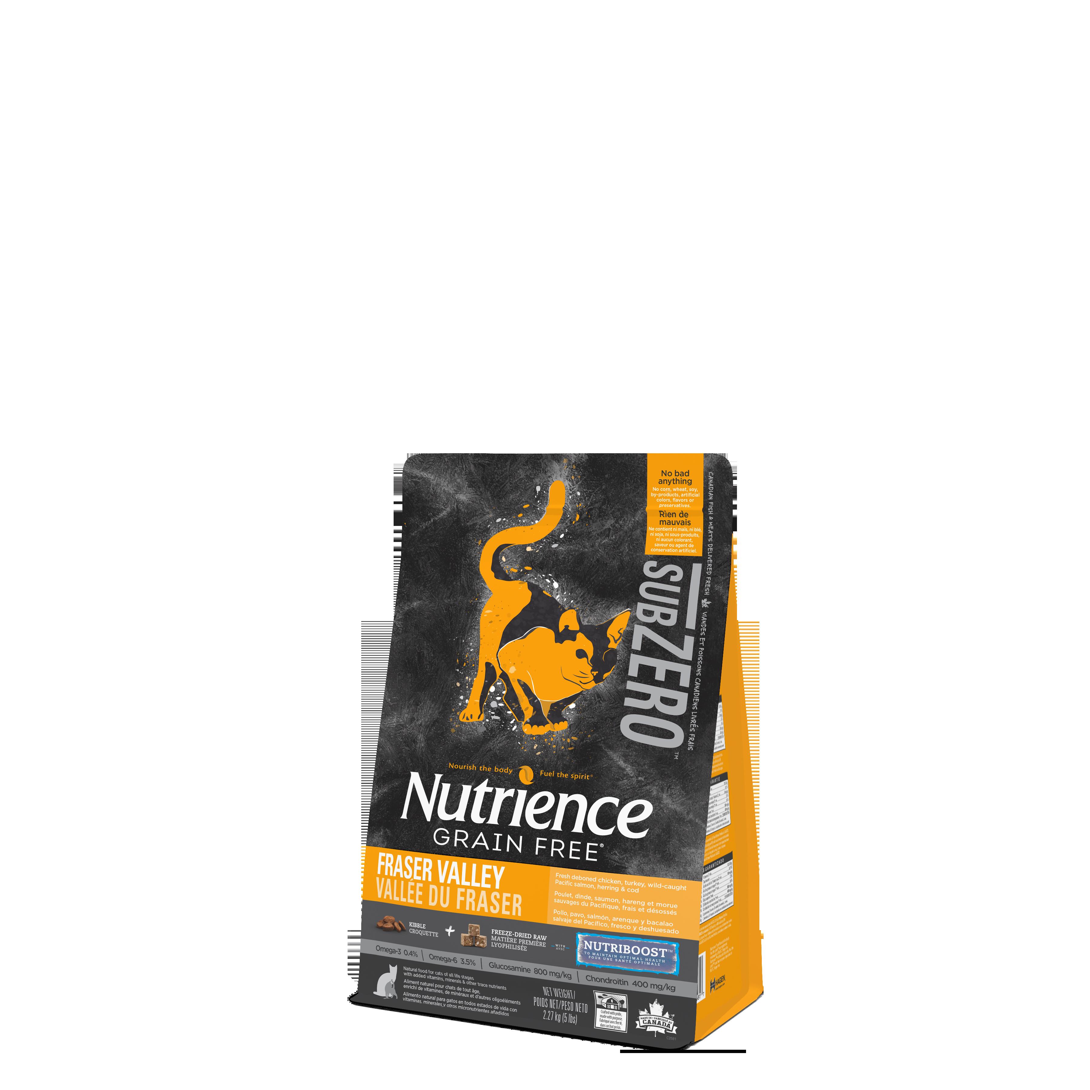 Nutrience Sub Zero Grain Free Fraser Valley Cat Food 2
