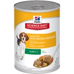 Hill's Science Diet Sav Stew Pup Chick & Veg Can 363g-dog-The Pet Centre