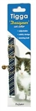 Tigga Reflect Cat Collar Black-collars-|-leads-|-harnesses-The Pet Centre