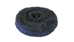Snoozzy Sherpa Dog Bed Grey Small 75x50x6cm -pillow-The Pet Centre