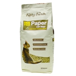 Kitty Fresh Ink Free Paper Litter 30lt-cat-The Pet Centre