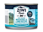 Ziwi Peak New Zealand Mackerel & Lamb Cat Can 185g-food-The Pet Centre