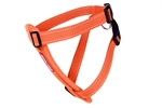 Ezydog Chest Plate Harness Medium Orange-harnesses-The Pet Centre