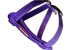 Ezydog Chest Plate Harness Medium Purple-harnesses-The Pet Centre