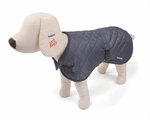 Kazoo Quilted Coat Grey XLarge 66cm-clothing-The Pet Centre