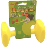 Neon Nylon Dumbell 15Cm-dog-The Pet Centre