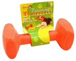 Neon Nylon Dumbell 17.5Cm-dog-The Pet Centre