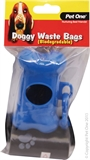 Pet One Waste Bag Dispenser-poop-bags-The Pet Centre