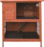 Premium 2 Storey Small Pet Hutch-hutches-|-housing-The Pet Centre