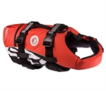 Ezydog DFD Lifejacket Red Medium-clothing-The Pet Centre