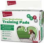 Yours Droolly Urine Neautralising Training Pads 28pk-training-The Pet Centre