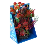 Aqua Care Artificial Plant with Resin Base 22cm No15-fish-The Pet Centre