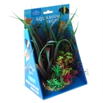 Aqua Care Artificial Plant with Resin Base 20cm No16-fish-The Pet Centre