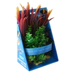 Aqua Care Artificial Plant Multi Pack Small No20-artificial-plants-The Pet Centre