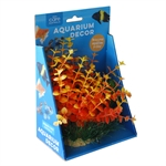 Aqua Care Artificial Plant with Resin Base 15cm No29-artificial-plants-The Pet Centre