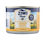 Ziwi Peak Free Range Chicken Cat Can 185g-nz-made-The Pet Centre