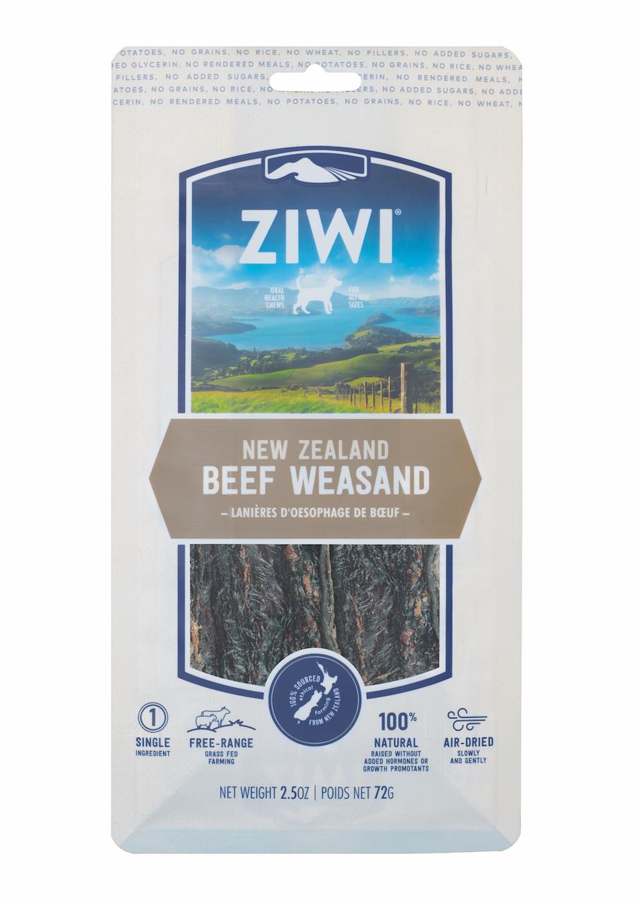 Ziwi Peak Oral Health Chew Beef Weasand 72g - Dog : The Pet Centre