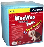 Pet One Wee Wee Training Pads 50pk-training-The Pet Centre