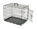 Canine Care Folding Crate 92cm-dog-The Pet Centre