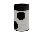 Feline Care Barrel Dark Brown 65cm-beds-|-scratchers-The Pet Centre