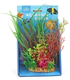 Aqua Care Plant Resin Base 20cm #051-fish-The Pet Centre