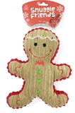 Snuggle Friends Christmas Gingerbread Man Toy-toys-The Pet Centre