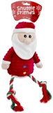 Snuggle Friends Christmas Santa with Rope Legs-toys-The Pet Centre