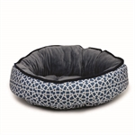 Barkley & Bella Grey Marrakesh Bed Small 50cm-beds-|-kennels-|-crates-The Pet Centre