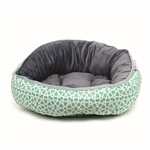 Barkley & Bella Mint Marrakesh Bed Small 50cm-beds-|-kennels-|-crates-The Pet Centre