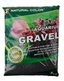 Aqua Care Gravel Silica Black 1kg-decorations-The Pet Centre