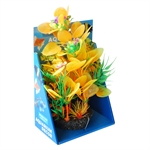 Aqua Care Artificial Plant with Resin Base 22cm No13-fish-The Pet Centre