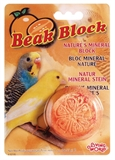 Living World Beak Block Mineral Supplement Orange-supplements-The Pet Centre