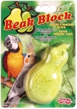 Living World Beak Block Mineral Supplement Pear-supplements-The Pet Centre