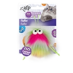AFP Furry Ball Fluffer Pink-catnip-The Pet Centre