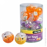 Pet One Cat Toy - Mouse Ball-cat-The Pet Centre
