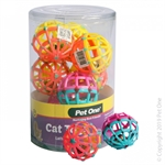 Pet One Cat Toy - Lattice Ball-toys-The Pet Centre