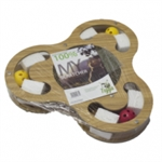 Tigga Cardboard Scratcher - Clover Leaf-cat-The Pet Centre