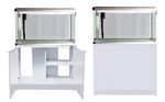 Aqua One Lifestyle 127 Aquarium & Stand (White)-fish-The Pet Centre