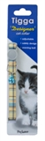 Tigga Cat Collar Textile Blue-cat-The Pet Centre
