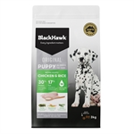 Black Hawk Puppy Chicken & Rice 3kg-dog-The Pet Centre
