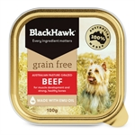 Black Hawk Dog Grain Free Beef Tin 100g-dog-The Pet Centre