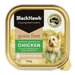 Black Hawk Dog Grain Free Chicken Tin 100g-dog-The Pet Centre